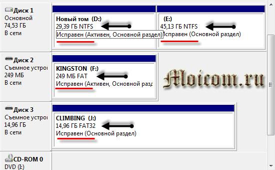 Компьютер не видит флешку - файловые системы