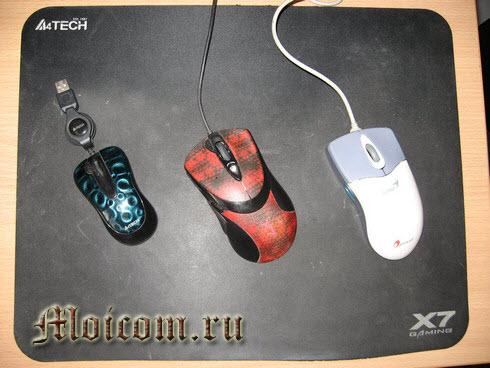 Устройство компьютера - компьютерная мышь