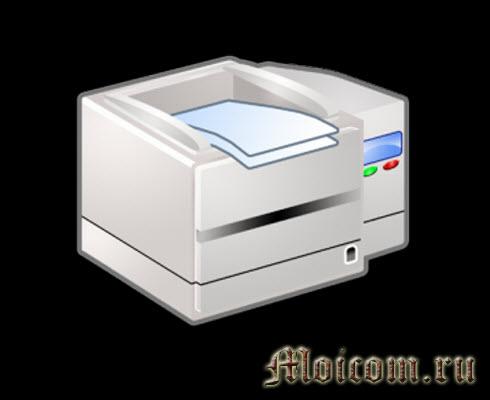 Устройство компьютера - принтер
