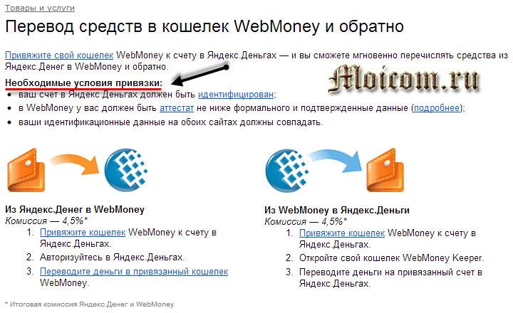 Регистрация в яндекс деньги - перевод средств