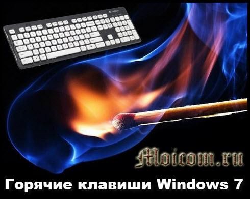 Горячие клавиши Windows 7