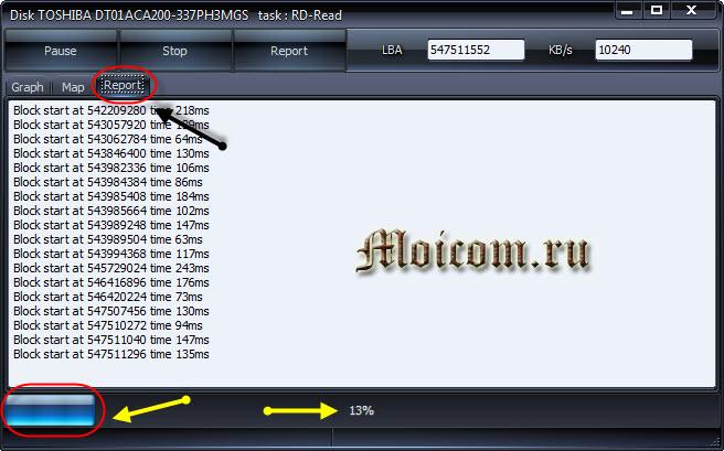 Проверка жесткого диска - HDDScan, кластеры и сектора