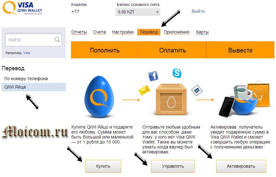 Киви кошелек регистрация - Qiwi яйца