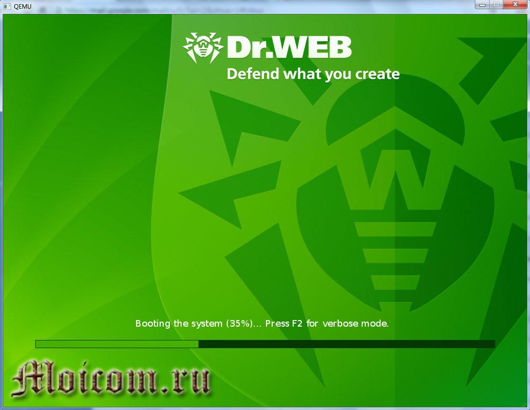 Создание мультизагрузочной флешки - Доктор Веб Live CD