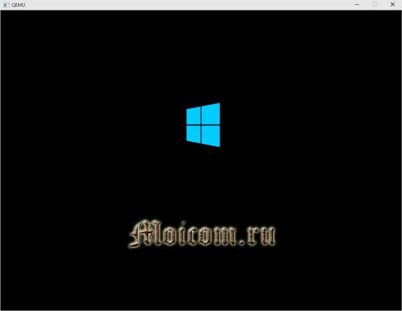 Загрузочная флешка Windows 10 - результат