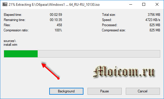 Загрузочная флешка Windows 10 - Universal usb installer, извлечение файлов