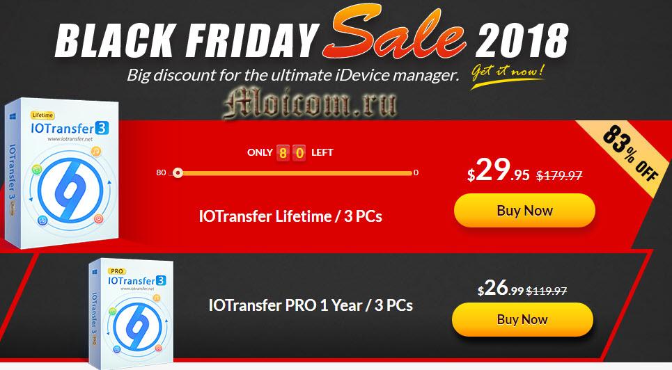 Программа IOtransfer 3 Pro - покупка лицензии