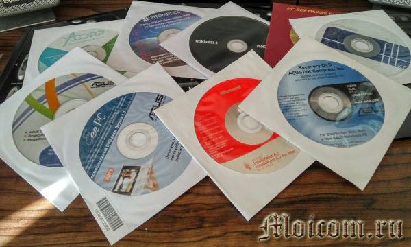 что такое драйверы - диски с драйверами