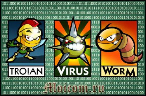что такое компьютерный вирус - виды вирусов