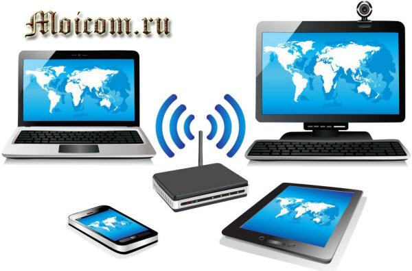 что такое вай фай - как работает Wi-Fi