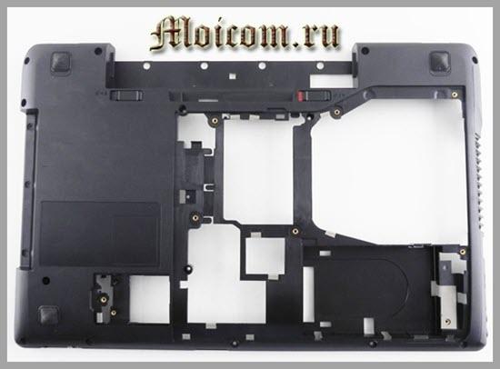 из чего состоит ноутбук - корпус