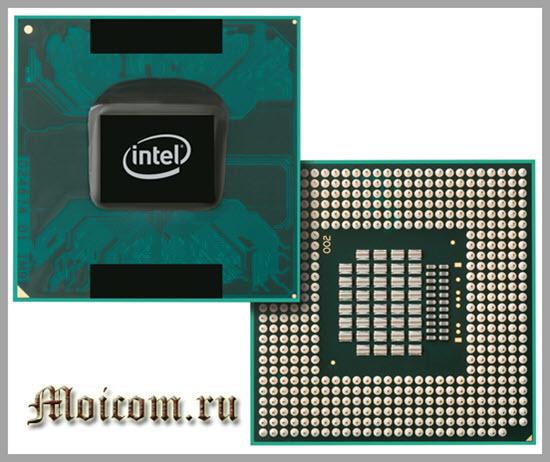 из чего состоит ноутбук - процессор