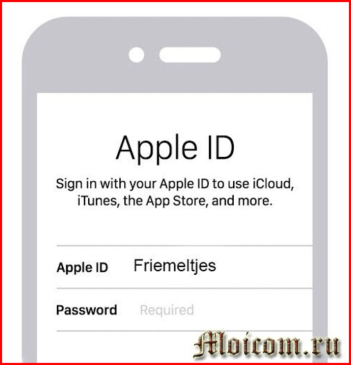 что такое Apple ID - Apple ID