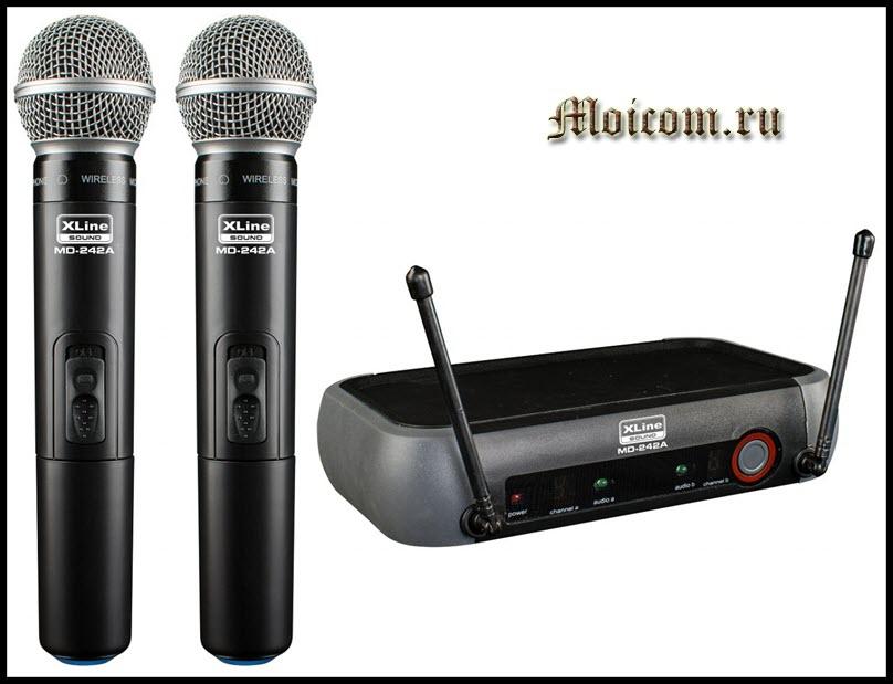 беспроводные микрофоны достоинства и недостатки - модели с ресивером